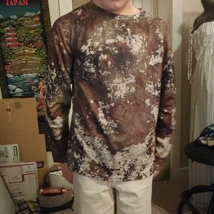 Boys camo long sleeve shirt